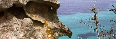 Kriaritsi, Chalkidiki, Sithonia - Sculpture by nature, eagle shaped rock